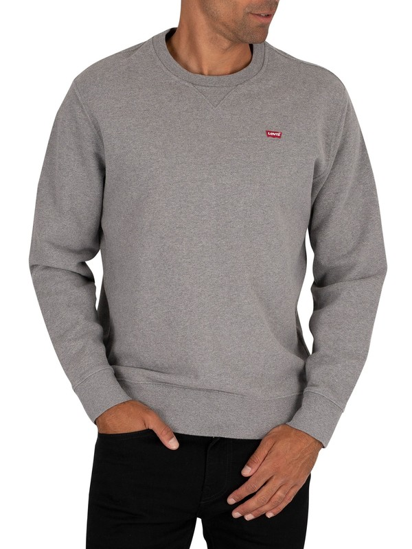 Levi's Original Crew Sweatshirt - Grey Heather