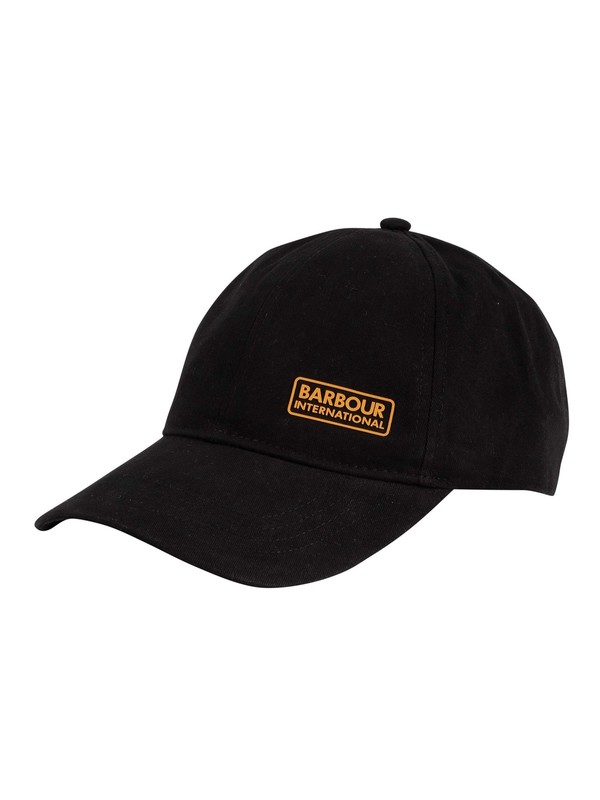 Barbour International Norton Drill Baseball Cap - Black
