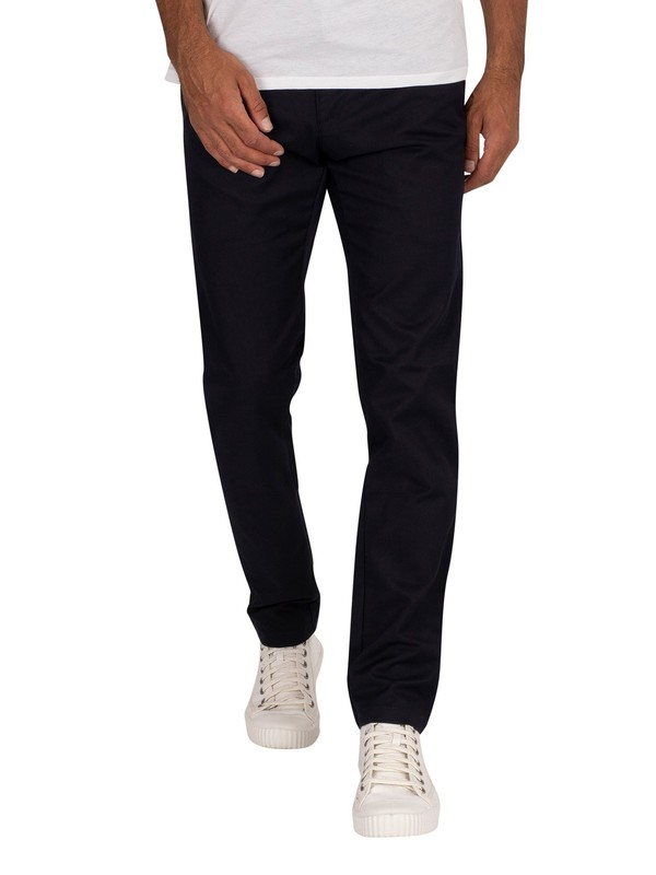 Carhartt WIP Sid Slim Tapered Chinos - Dark Navy Rinsed