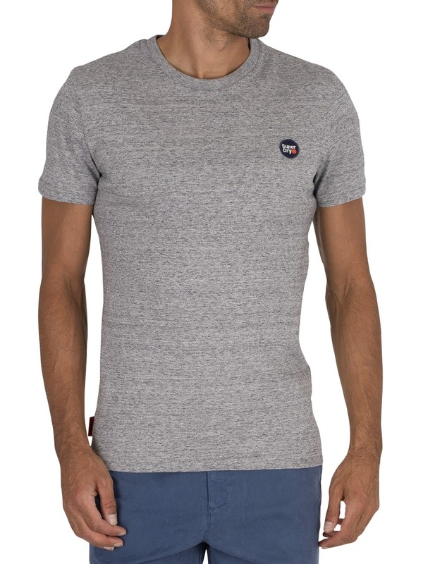Superdry Collective T-Shirt - Dark Grey Grit