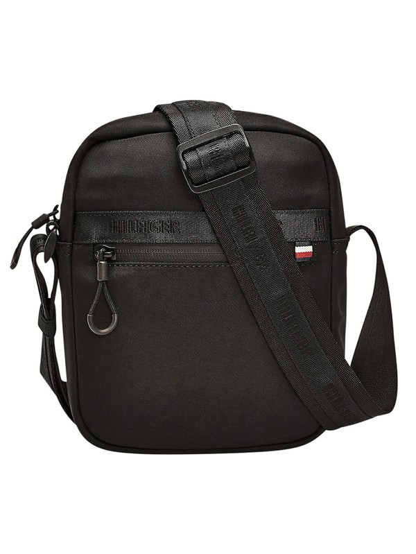 Tommy Hilfiger Urban Mini Reporter Bag - Black