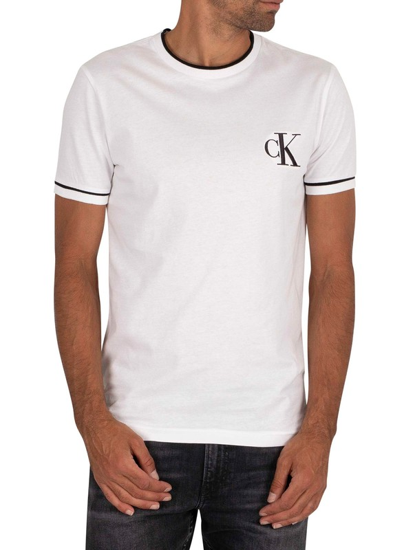 Calvin Klein Jeans Tipping Essential T-Shirt - Bright White