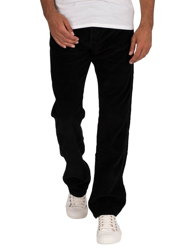 Lois Jeans New Dallas Jumbo Cord Jeans - Black
