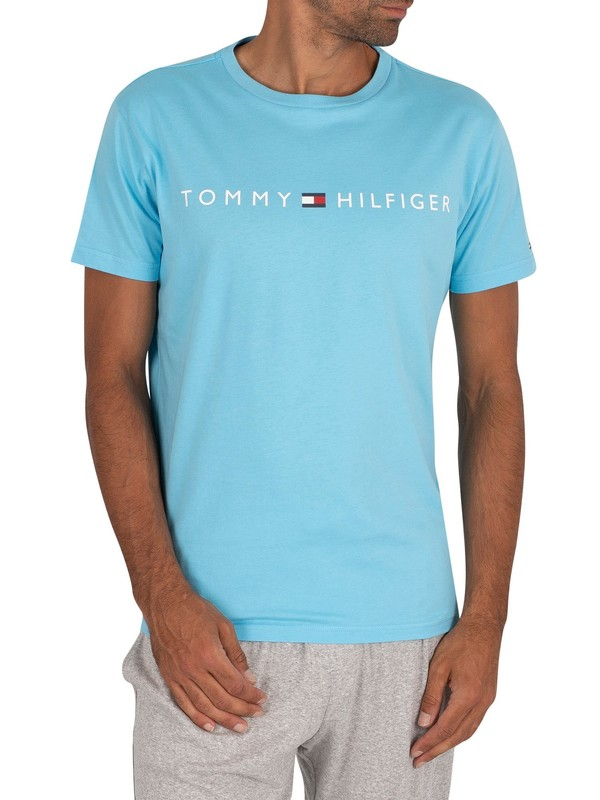 Tommy Hilfiger Graphic Lounge T-Shirt - Blue Grotto