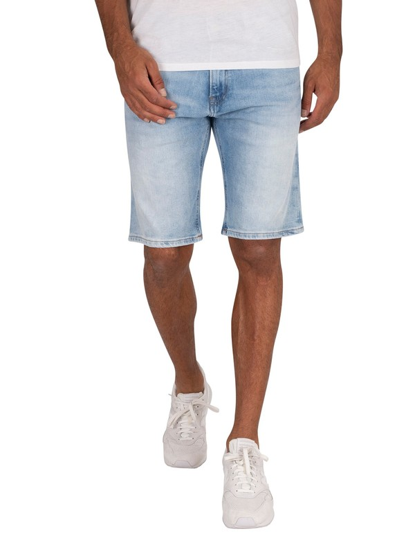 Tommy Jeans Scanton Slim Denim Shorts - Court