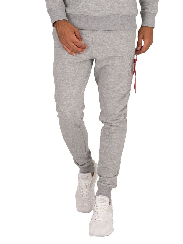Alpha Industries X-Fit Slim Cargo Joggers - Grey Heather