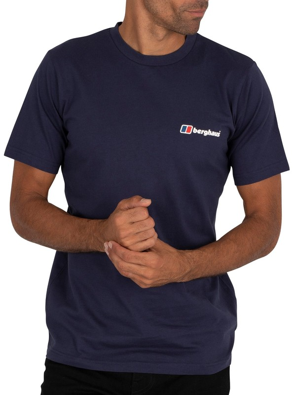 Berghaus Corporate Logo T-Shirt - Dark Blue