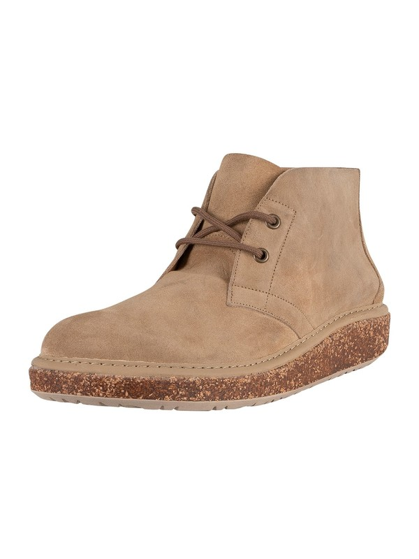 Birkenstock Milton Suede Leather Desert Boot - Ginger
