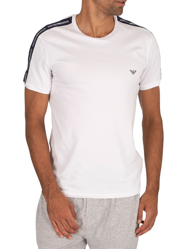 Emporio Armani Lounge Crew Neck T-Shirt - White