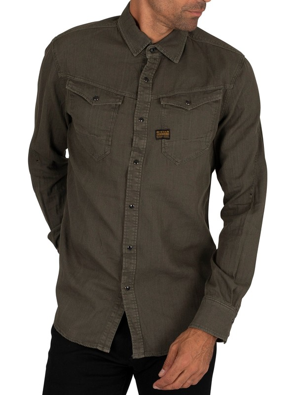 G-Star Arc Slim Shirt - Asfalt