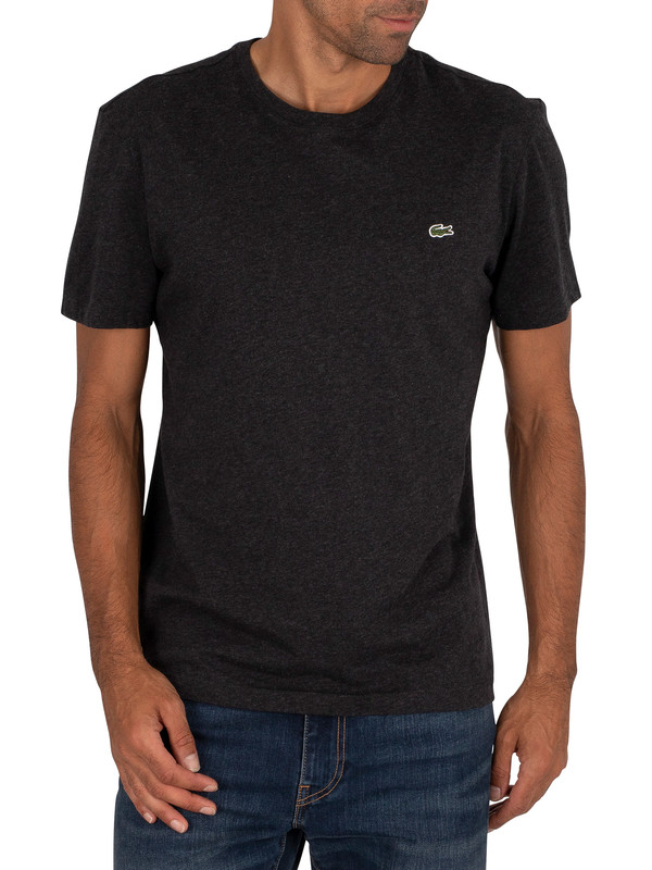 Lacoste Logo T-shirt - Dark Grey
