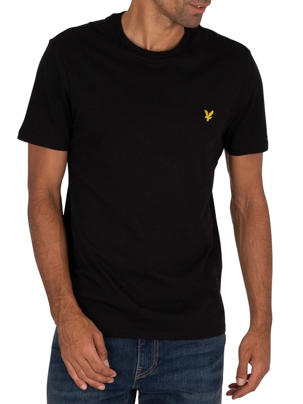 Lyle & Scott Crew Neck T-Shirt - Jet Black