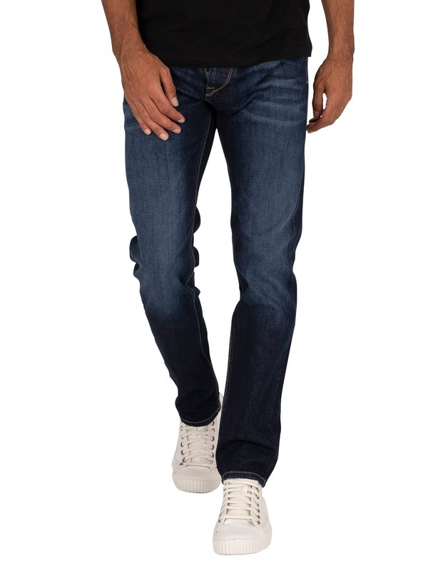 Pepe Jeans Spike Regular Jeans - Blue Denim