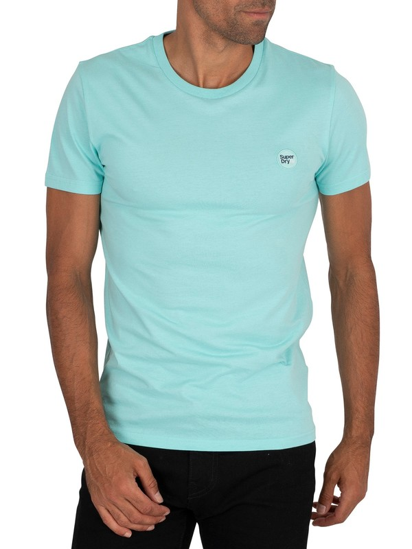 Superdry Collective T-Shirt - Pool Blue