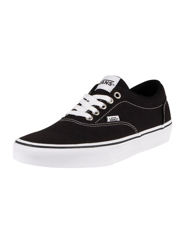 Vans Doheny Canvas Trainers - Black/White