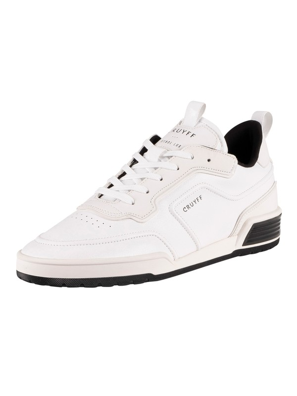 Cruyff Calcio BCN Leather Trainers - White