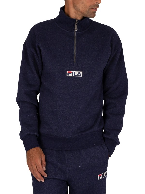 Fila Clooney Track Top - Peacoat/White/Red/Turtle Dove