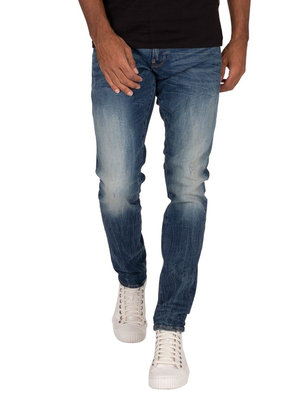 G-Star Revend Skinny Originals Jeans - Antic Faded Baum Blue