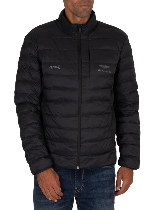 Hackett London AMR Quilted Jacket - Black