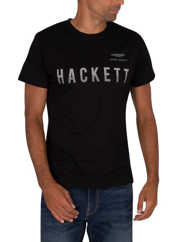 Hackett London AMR T-Shirt - Black