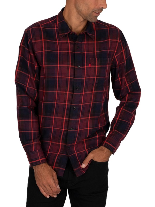 Levi's Sunset Pocket Shirt - Standard Azriel Sassafras