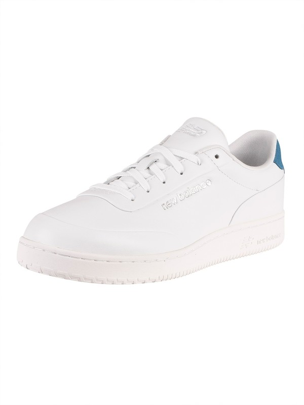New Balance CT Alley Leather Trainers - White/Blue