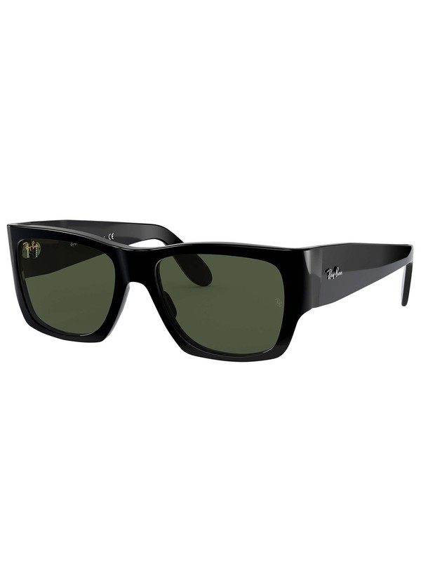 Ray-Ban Nomad Legend Gold Sunglasses - Shiny Black