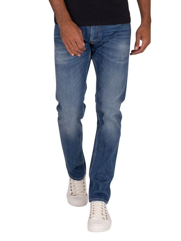 Replay Rocco Comfort Jeans - Deep Blue Indigo