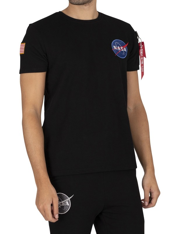 Alpha Industries NASA Heavy T-Shirt - Black
