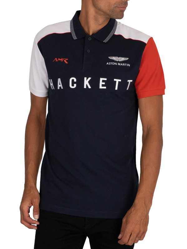 Hackett London AMR Polo Shirt - Navy