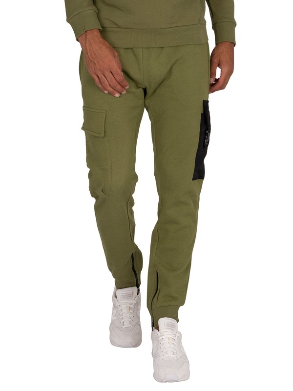 Religion Snatch Joggers - Dark Olive