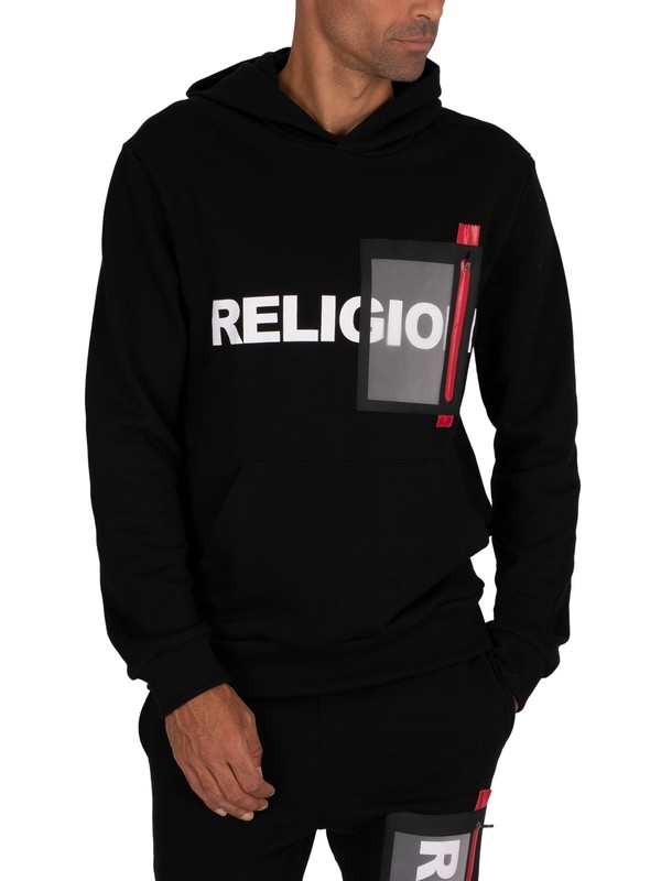 Religion Vision Pullover Hoodie - Black