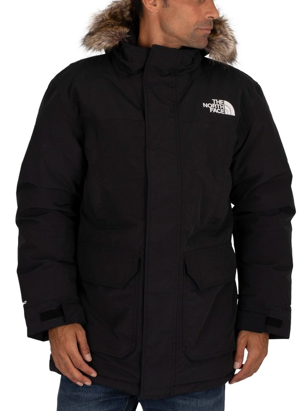 The North Face Stover Parka Jacket - Black