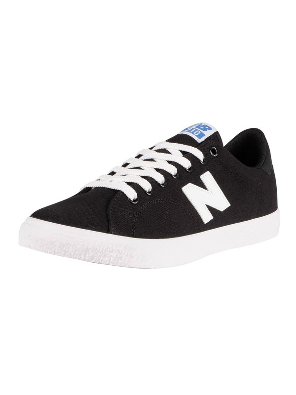 New Balance All Coasts 210 Canvas Trainers - Black/White