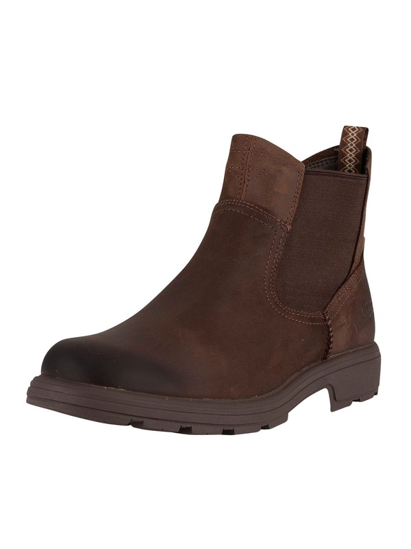 UGG Biltmore Chelsea Leather Boot - Brown