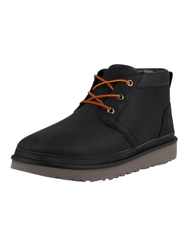 UGG Neumel Utility Leather Boots - Black
