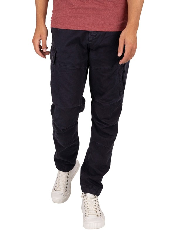 G-Star Roxic Straight Tapered Cargos - Mazarine Blue