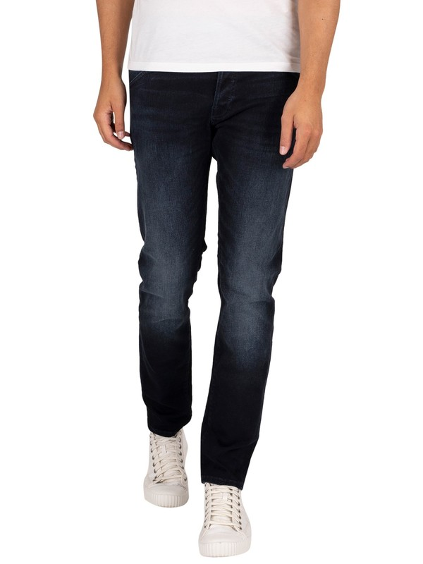Jack & Jones Glenn Fox 104 Slim Jeans - Blue Denim