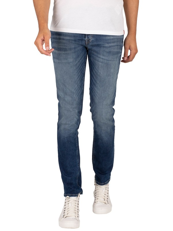 Jack & Jones Glenn Original 206 Slim Jeans - Blue Denim