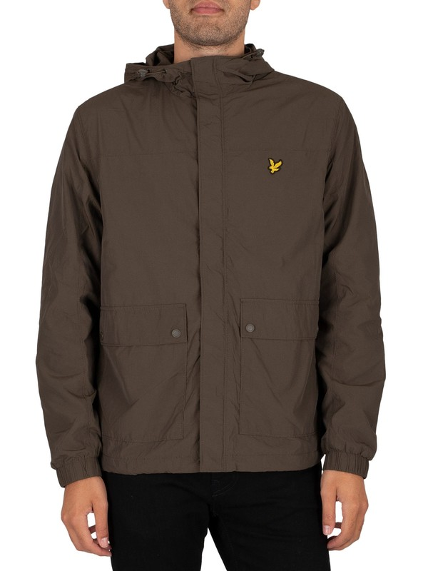Lyle & Scott Hooded Pocket Jacket - Trek Green
