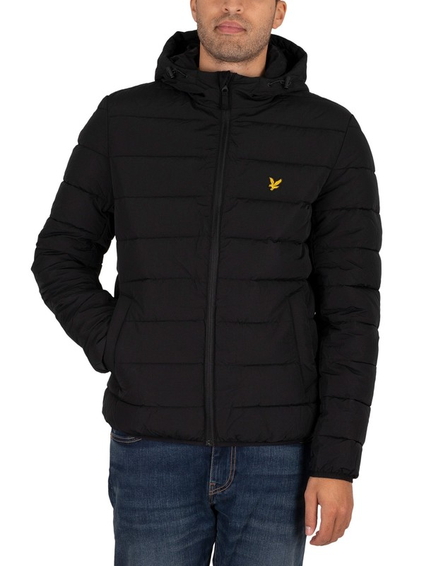 Lyle & Scott Lightweight Puffer Jacket - Jet Black