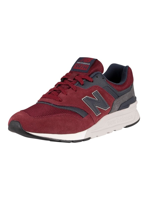 New Balance 997H Suede Trainers - Classic Burgundy/Outerspace