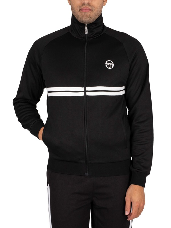 Sergio Tacchini Dallas Track Jacket - Black/White