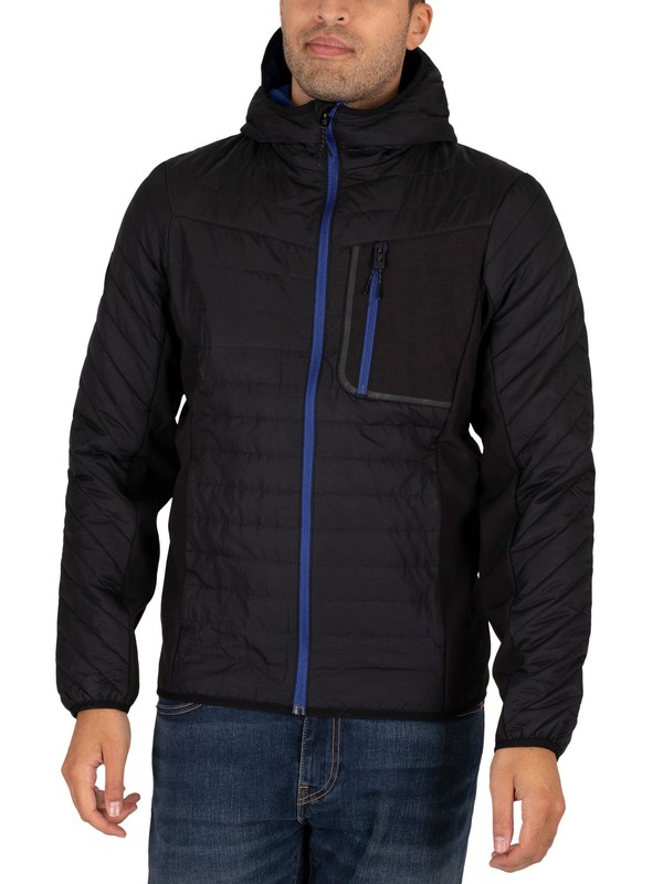 Superdry Convection Hybrid Hooded Jacket - Black