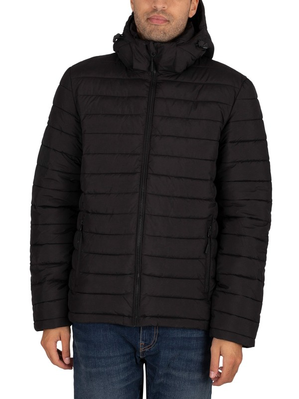 Superdry Hooded Fuji Jacket - Black