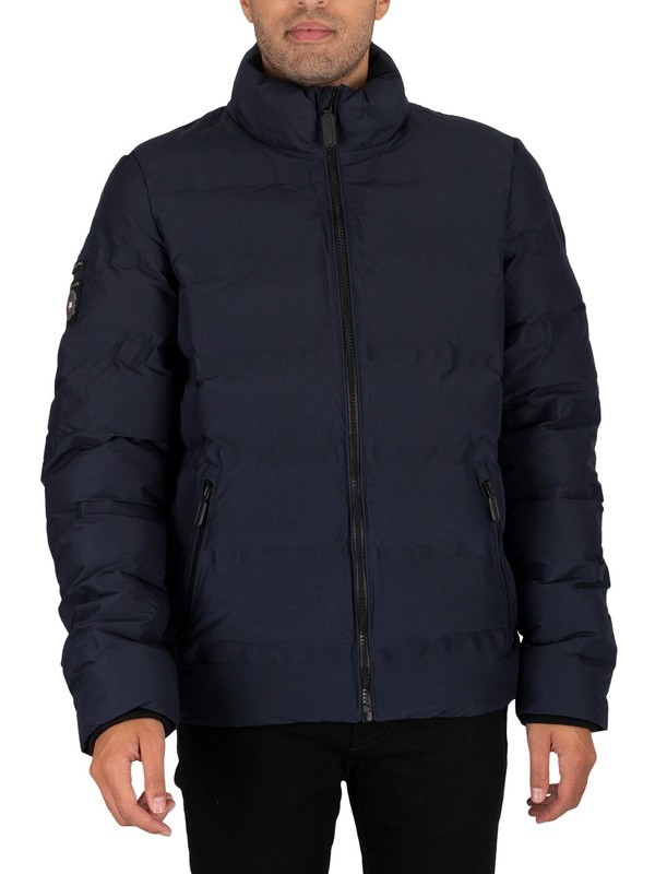 Superdry Ultimate Radar Quilt Jacket - Atlantic Navy