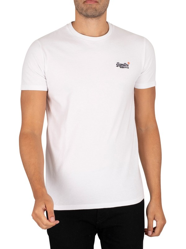 Superdry Vintage EMB T-Shirt - Optic
