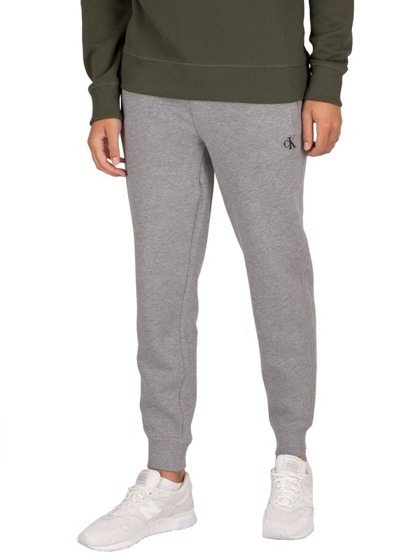 Calvin Klein Jeans Essential Joggers - Mid Grey Heather