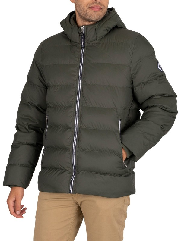 GANT The Active Cloud Jacket - Thyme Green