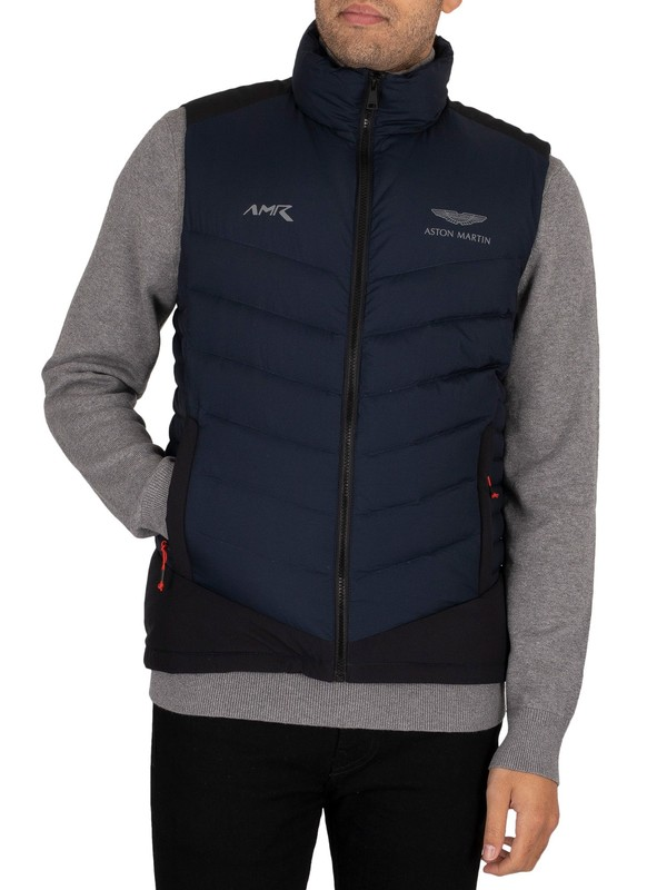 Hackett London AMR Sub Zero Gilet - Navy